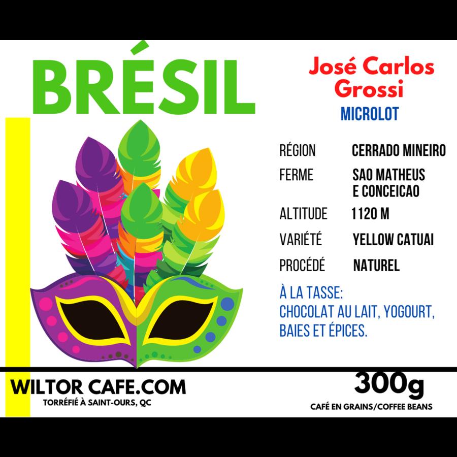 Café Brésil | José Carlos Grossi | Wiltor Café | 300g