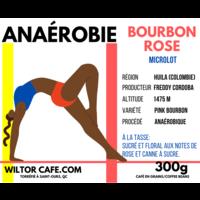 Café Anaérobie | Bourbon Rose | Wiltor Café | 300g