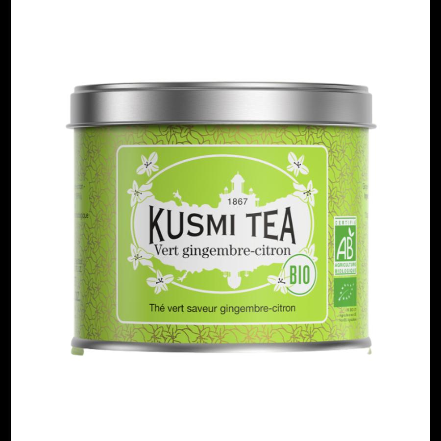 Vert Gingembre, Citron (Biologique) | Kusmi tea | 100g