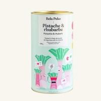 Préparation dessert à la pistache à base de purée de rhubarbe | Bela Peko | 674g