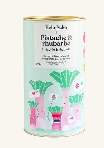 Bela Peko--Dessert Pistache & Rhubarbe 674g |Bela Peko