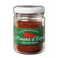 Poudre de piment d'Espelette AOC pot 40g | La maison du Piment
