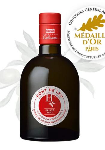 Huile d'Olive Extra Vierge Font de Leu (Fruité vert) | Château Calissanne | 500ml