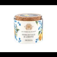 Fleur de sel de Sicile & citron de Sicile | Les Terres Blanches | 70g