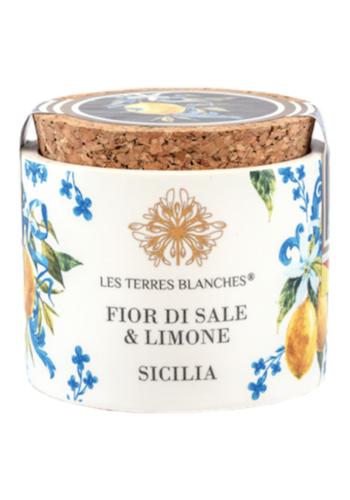 Fleur de Sel Sicilie & Citron de Sicile   Les Terres Blanches   70g
