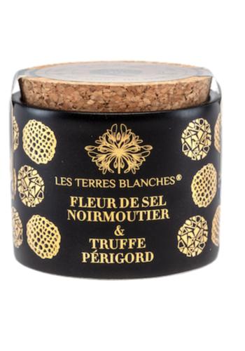 Fleur de sel de Sicile & truffe noire du Périgord | Les Terres Blanches | 70g
