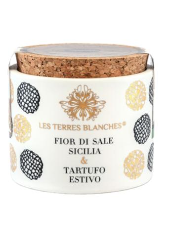 Fleur de Sel Sicilie & Truffe d'Été | Les Terres Blanches | 70g