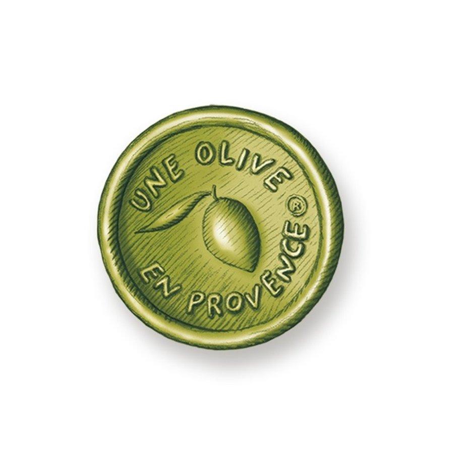 Savon rond vert -olive | Une Olive en Provence | 150g
