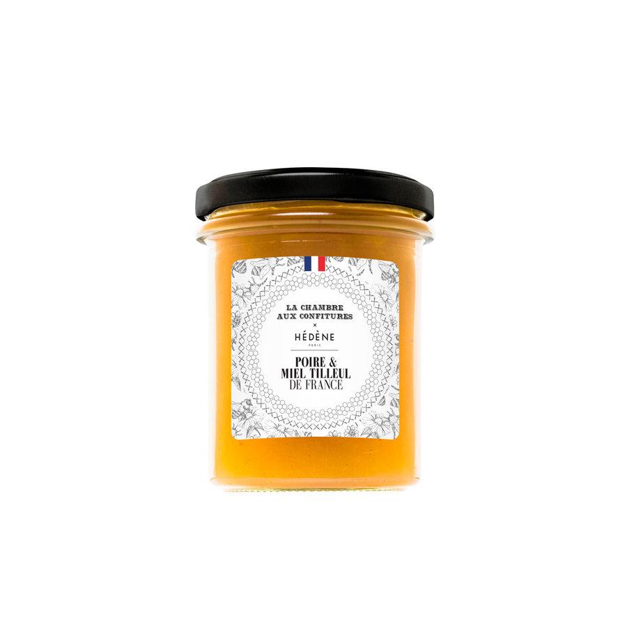 Confiture poire & miel de tilleul de France |200g | La Chambre aux confitures