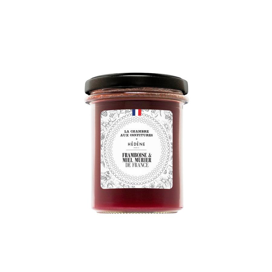 Confiture Framboise & Miel de Mûrier de France |  La Chambre aux confitures | 200g