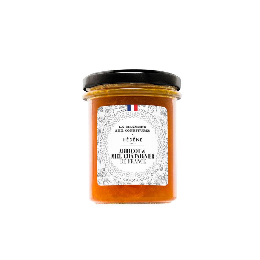 Confiture abricot & miel de châtaignierde France |200g | La Chambre aux confitures
