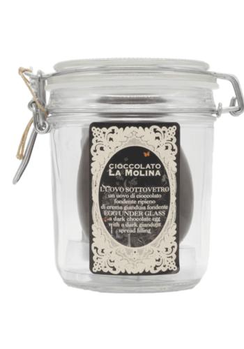 Oeuf chocolat noir 64% avec crème de Gianduja  | La Molina