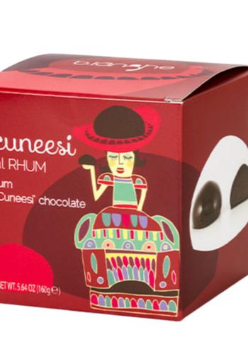 Cuneesi au chocolat noir et rhum | B.langhe | 160g