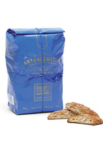 Biscottis aux amandes de Prato (cantucci) - Sac bleu | Antonio Mattei | 250g