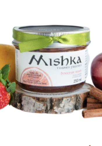 Tisanes fruitées Mishka douceur rosée 250 ml