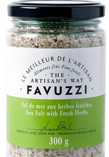 Sel de mer aux herbes d'herbes fraîches    Favuzzi   300g