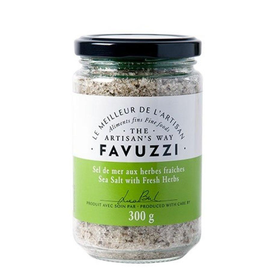 Sel de mer aux herbes d'herbes fraîches  | Favuzzi | 300g