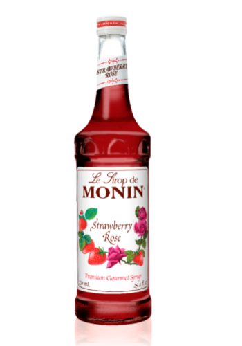 Sirop Rose & Fraise | Monin | 750 ml