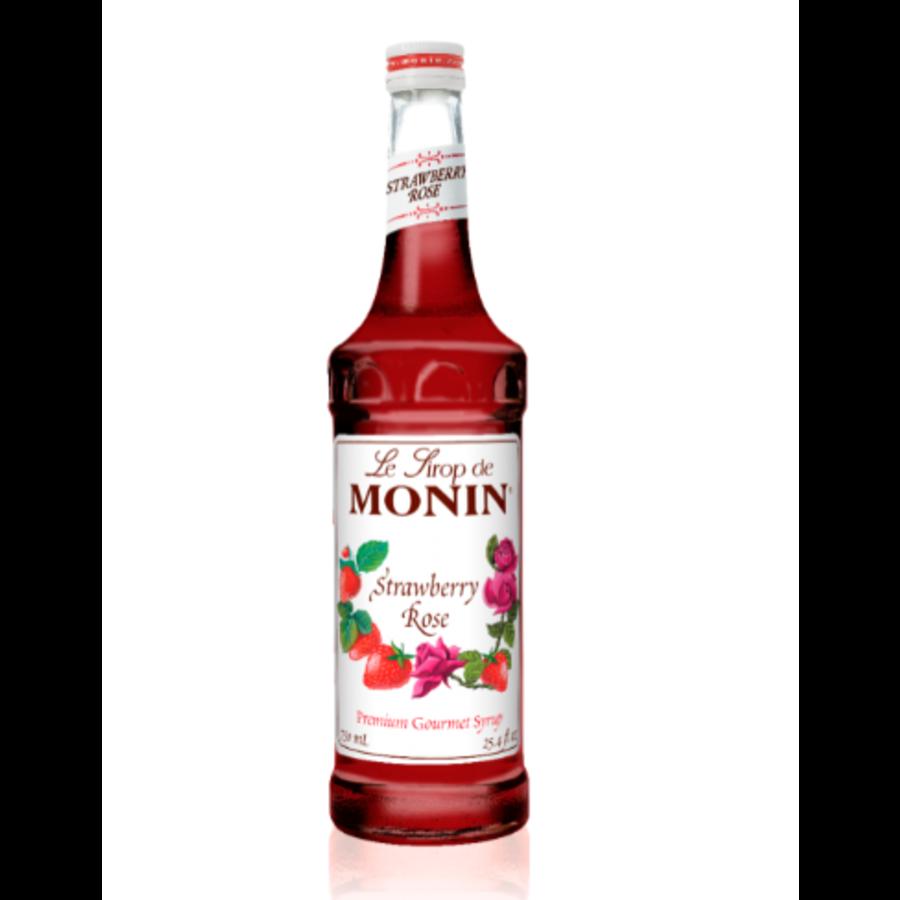 Sirop rose & fraise | Monin | 750 ml