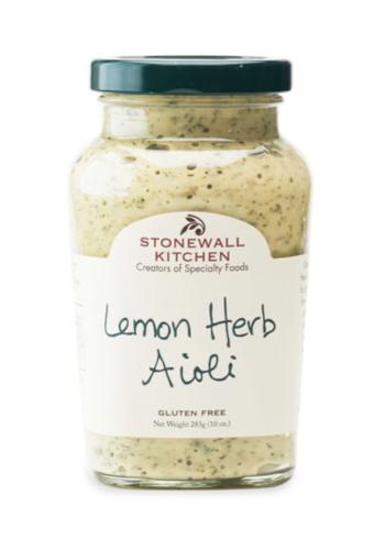 Aioli herbes et citron 314 ml - Stonewall Kitchen