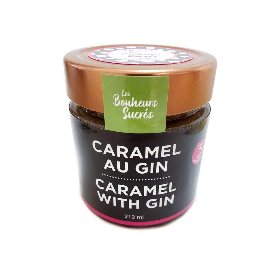 Caramel au Gin | Les bonheurs sucrés | 212ml