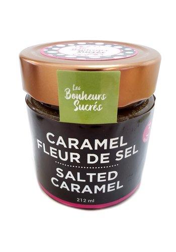 Caramel fleur de sel 212 ml | Les Bonheurs sucrés