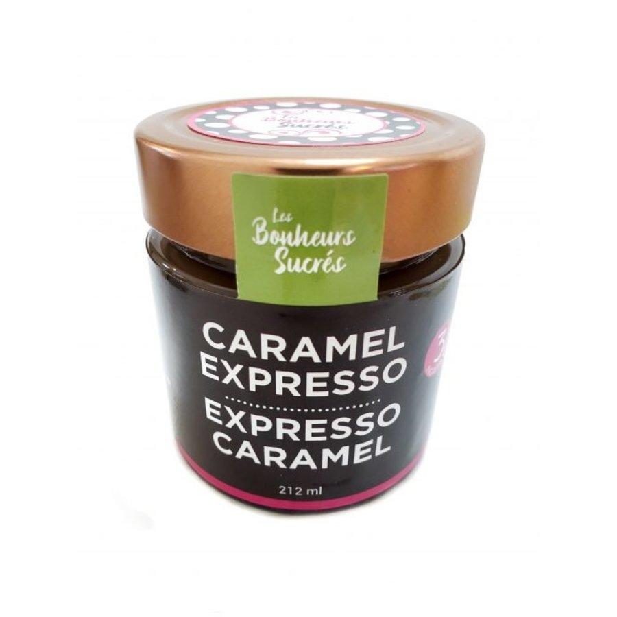 Caramel à l'expresso | Les Bonheurs Sucrés | 212 ml