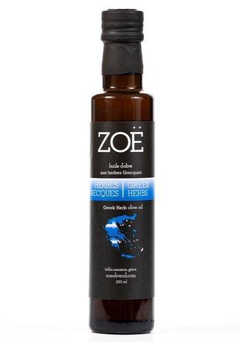 Huile d'olive aux herbes grecques | Zoë | 250 ml