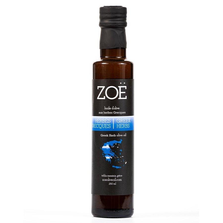 Huile d'olive aux herbes grecques   Zoë   250 ml