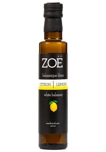 Lemon Infused White Balsamic | Zoë | 250ml