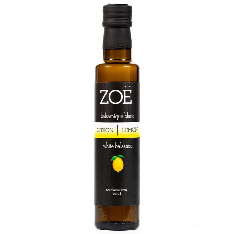 Vinaigre de balsamique blanc (Citron) | Zoë | 250ml