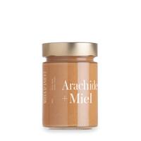 Beurre d'arachide au miel   Miel d'Anicet   380g