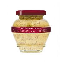 Moutarde en grain au vinaigre de cidre | Domaine des Terres Rouges |200g