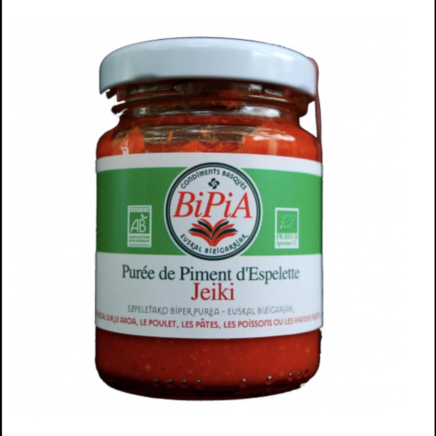Purée de  Piment d'Espelette bio | Biperra | 50g