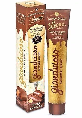 Crème de noisette et cacao en tube | Leone | 115g