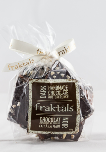 Caramels sel de mer - Chocolat noir (sac) | Fraktals | 110g