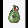 Galantino Huile d'olive dans cruche peinte a la main  verte| Tony| 500 ml