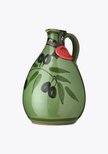 Huile d'olive extra vierge - Peinte à la main  verte (Tony) | Galantino | 500 ml