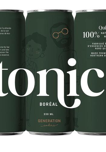 Tonique Boréal| Génération soda | 330 m l