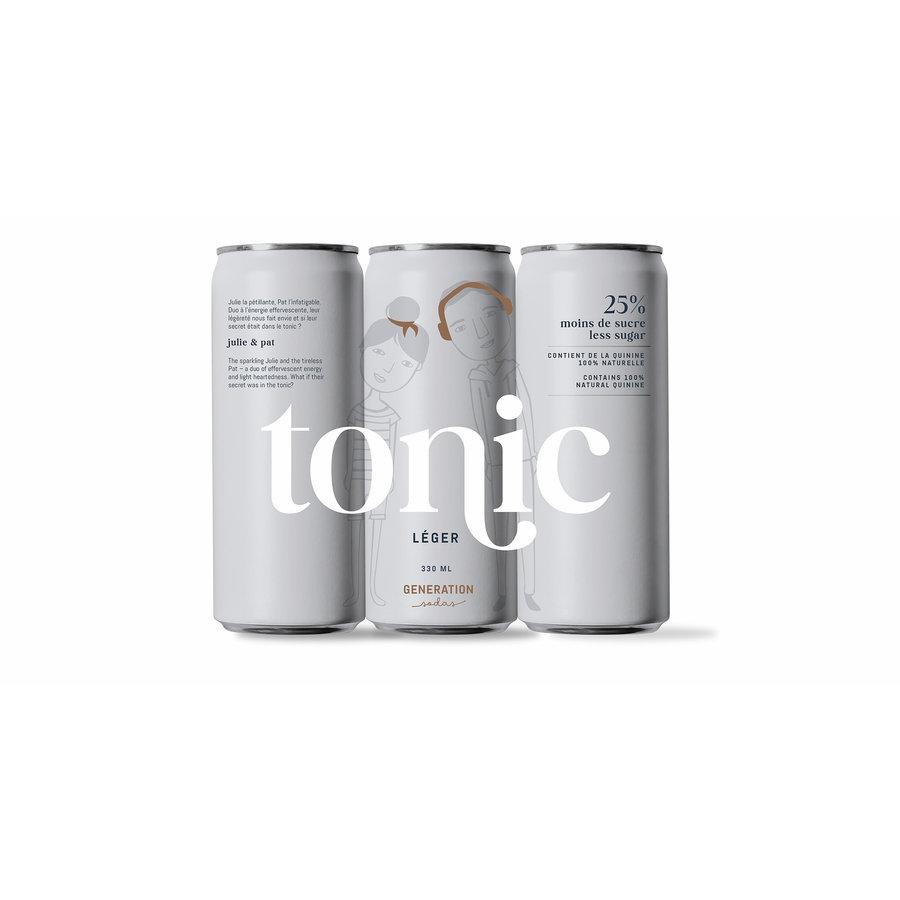 Tonic Léger | Génération Soda | 330ml