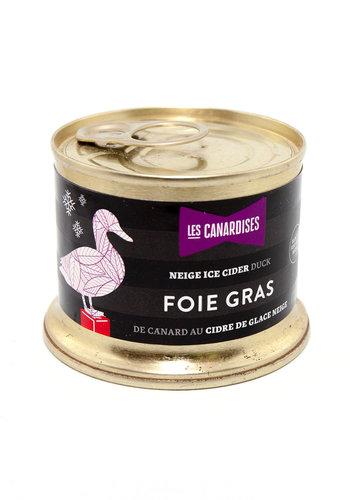 Bloc  de foie gras au cidre de glace | Les Canardises | 140g
