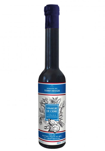 Vinaigre de cidre aux algues et a la fleur de sel | Domaine des Terres Rouges | 250ml