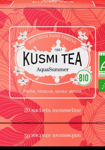 AquaSummerBio | Kusmi Tea | Étui 20 sachets mousseline 40g