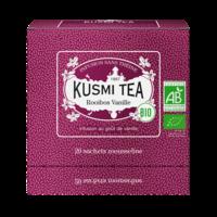 Thé herbal Rooibos Vanille  bio     Kusmi Tea   Étui 20 sachets mousseline 40g