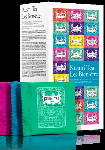 Les bien-etre | Kusmi Tea | 24 mousselines enveloppées