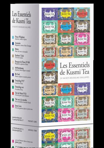 Les Essentiels  | Kusmi Tea | 24 mousselines enveloppées