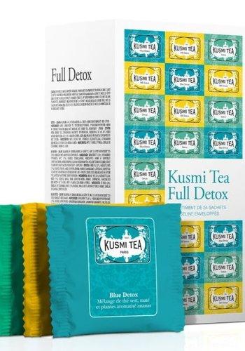 Full Detox  | Kusmi Tea | 24 mousselines enveloppées