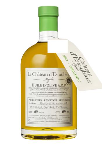 Olive Oil A.O.P. Apothicaire BIO | Château d'Estoublon | 500ml