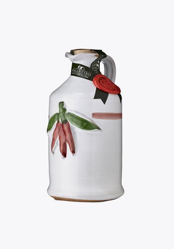 Huile d'olive au Chili (Pot en céramique) | Galantino | 250 ml
