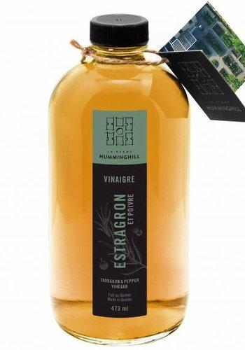 Vinaigre -Basilic & Citron | La Ferme Humminghill|473ml